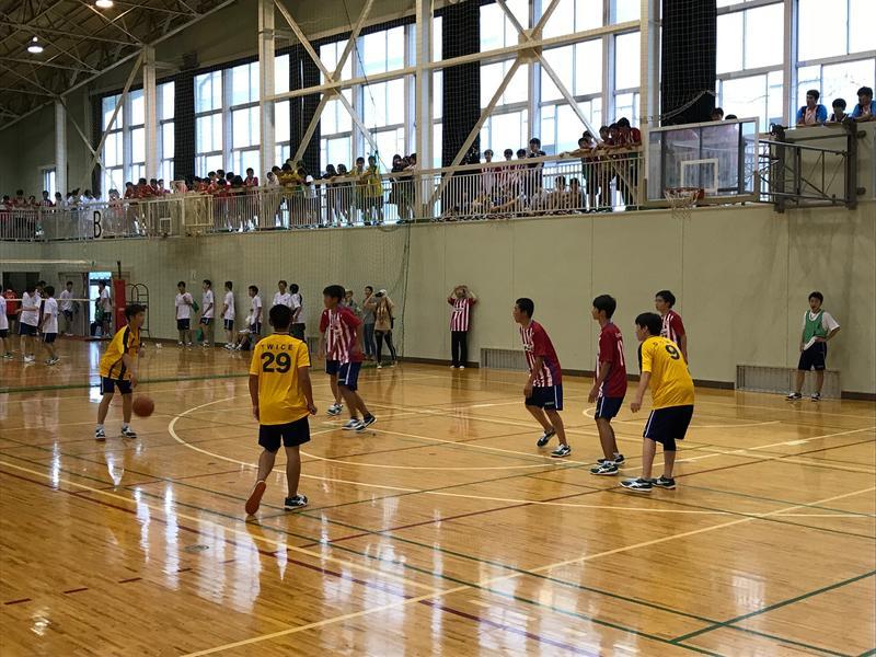 バスケットボール1回戦M11 VS E12